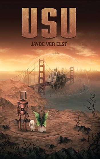 Book cover for Usu by Jayde Ver Elst.
